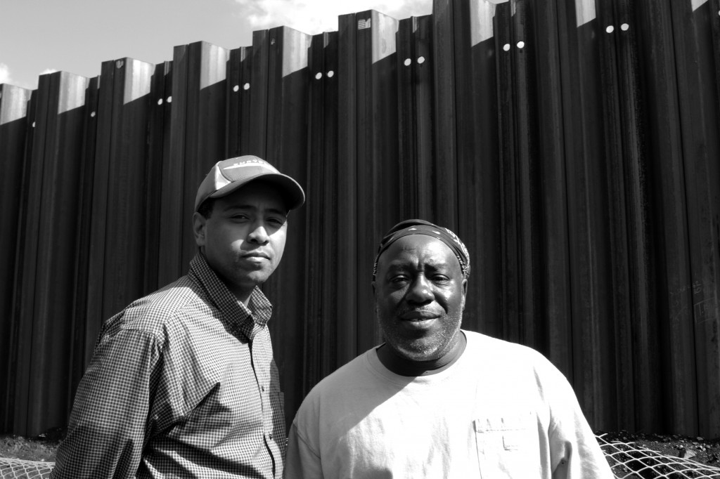Elliot Williams and Milton Bryant, longtime residents of Englewood. Patrick Leow.