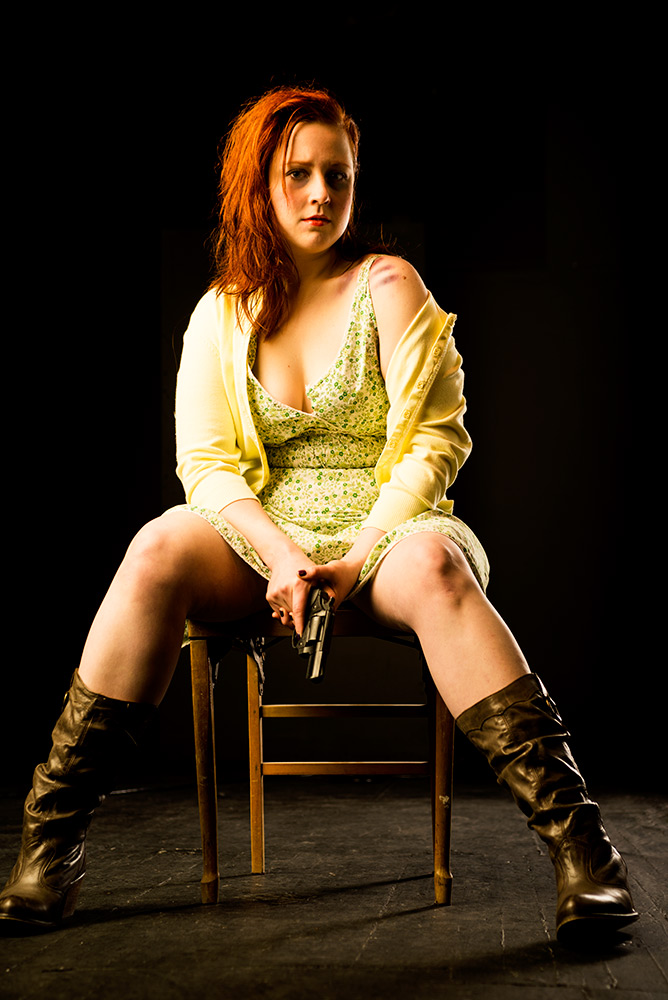 """Nicole Roberts as Mary Graves in Jeremy Menekseoghu's """"RIO."""" Courtesy of Dream Theatre."""