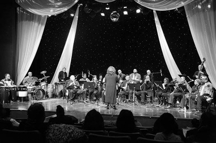 """The Chicago Modern Orchestra Project performs """"Suite of DuSable: A Vision of Faith."""" COURTESY ALVIN CARTER-BEY"""