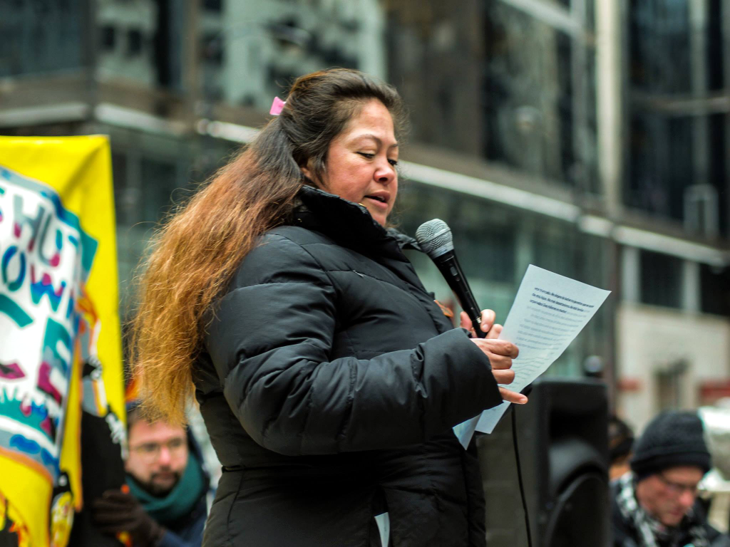 Lourdes Moreno Carrero speaks out about her experience in ICE detention facilities. ISAAC SILVER