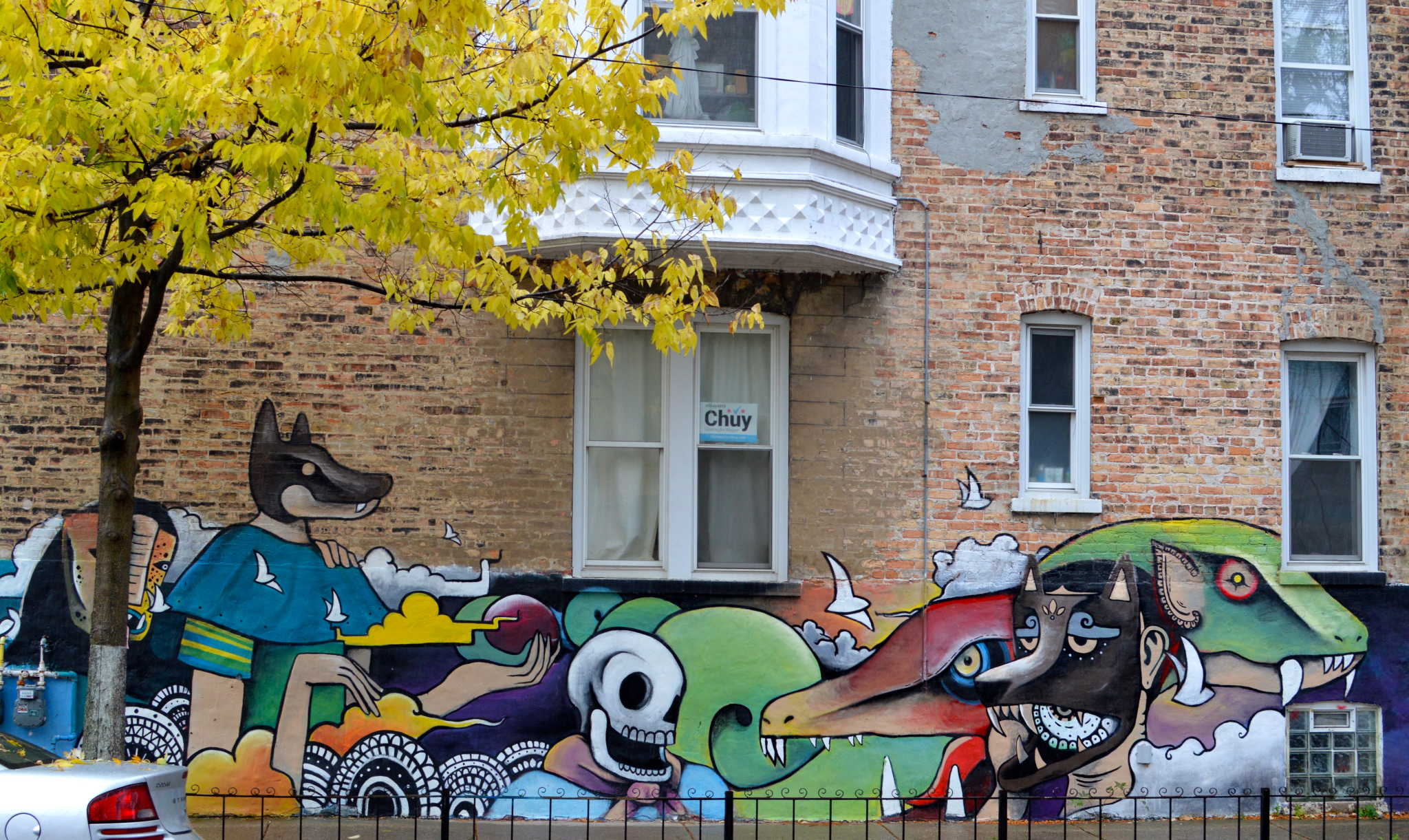 Finding wall space in little village south side weekly