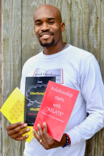 "Eddie Rogers II, author of Relationship Starts With ""Relate"" and other titles (Bridget Vaughn)"