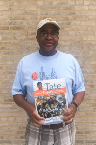 Bernard Turner, author of Tate and His Historic Dream and other titles (Ellen Hao)