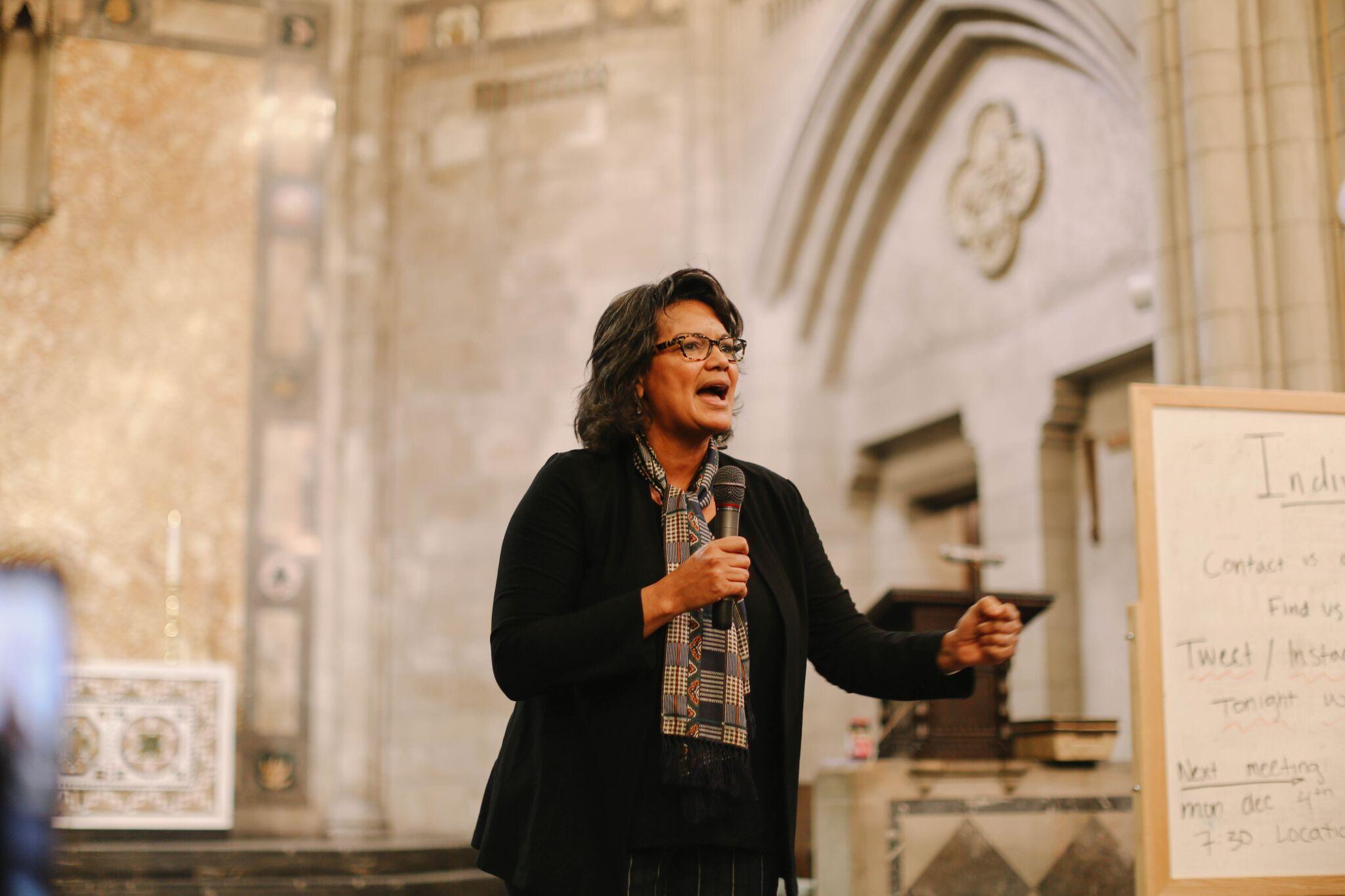 Attorney General candidate Sharon Fairley (Kiran Misra)
