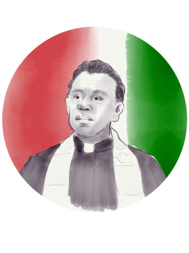 Father Landaverde (Lizzie Smith)