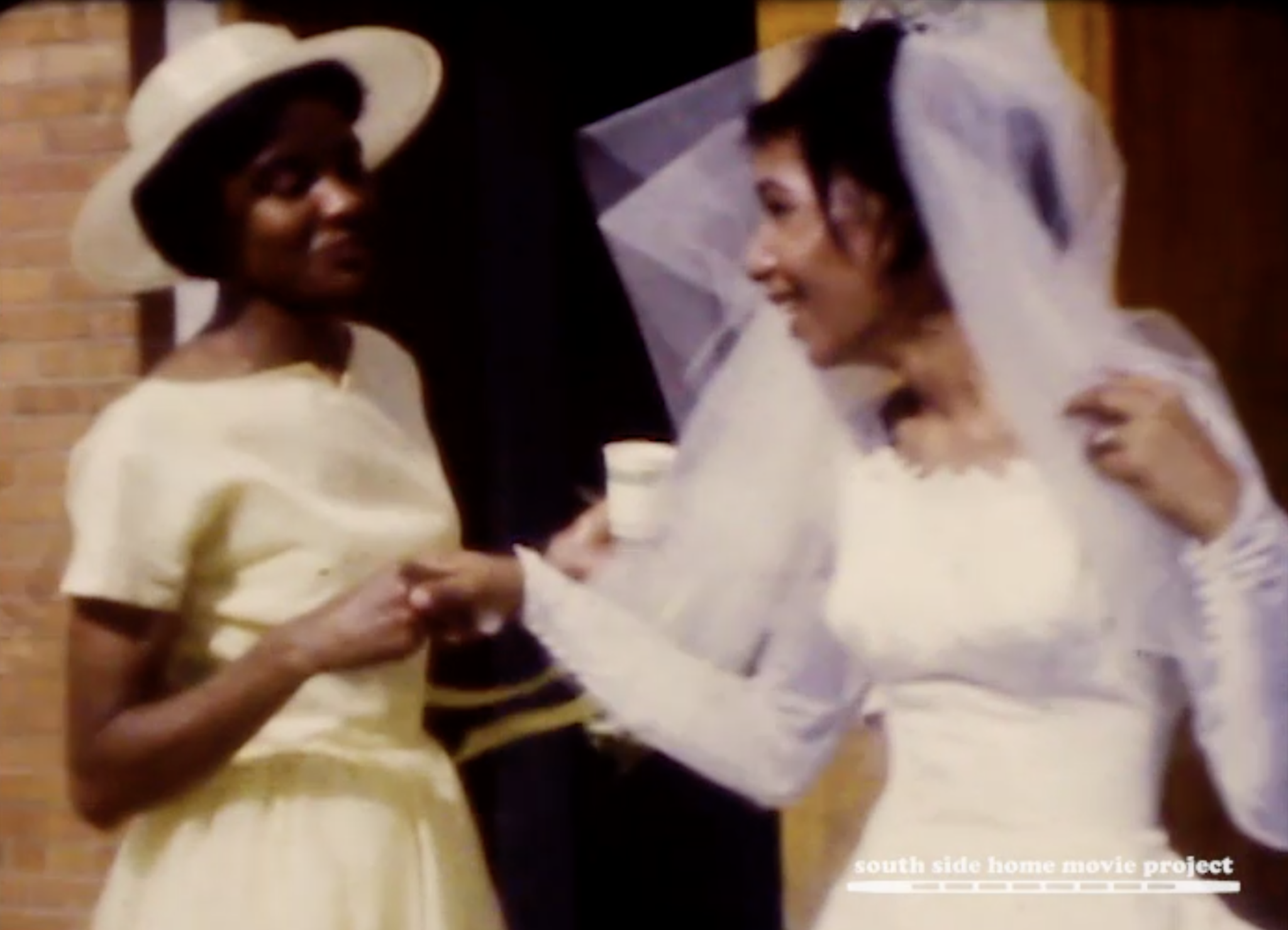 Still from the Lynette Frazier collection, courtesy of the South Side Home Movie Project. 1960s.
