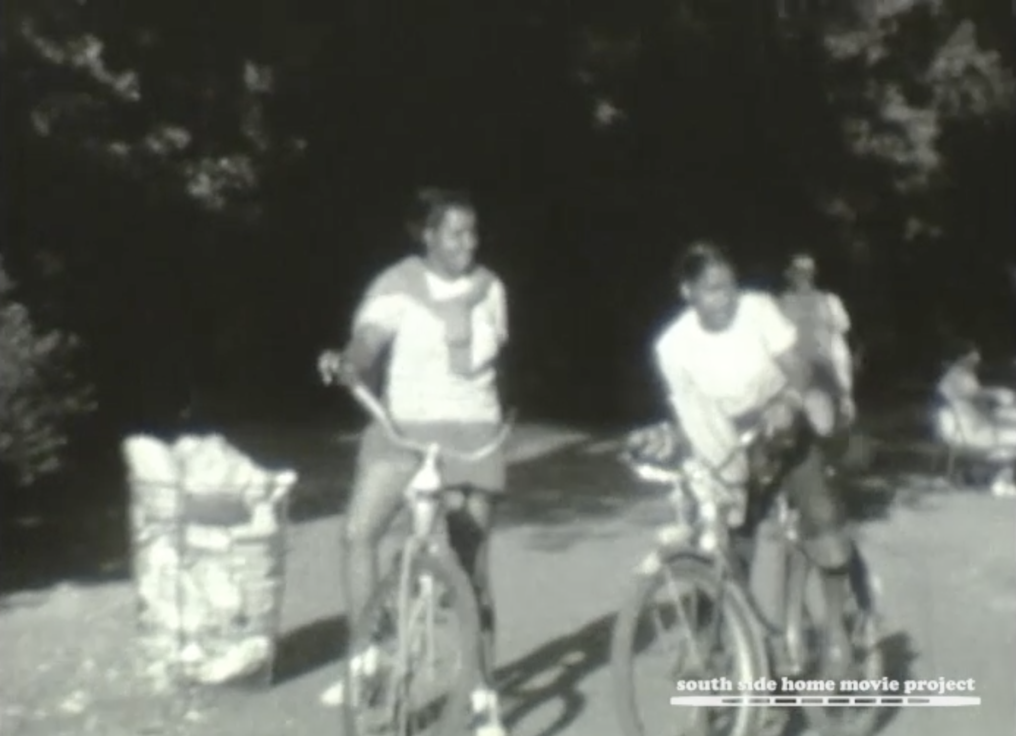 Still from the Ellis McClelland collection, courtesy of the South Side Home Movie Project. 1940s.