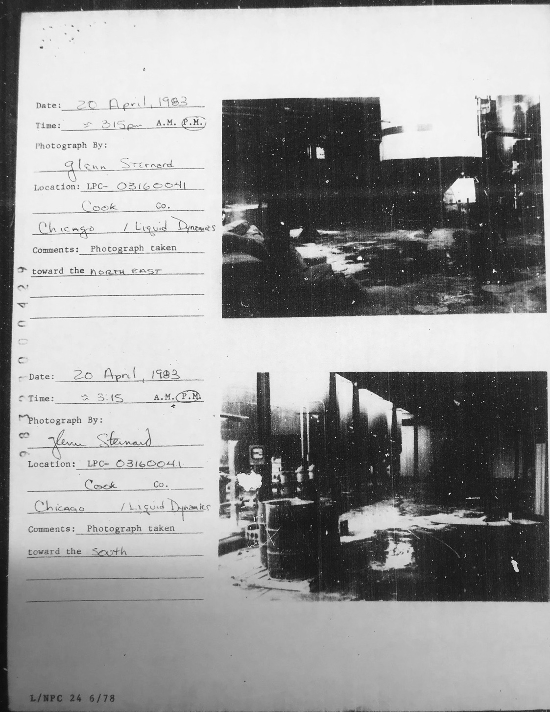 Documents related to the toxicity of the Cooperation Operation's site obtained with a FOIA request