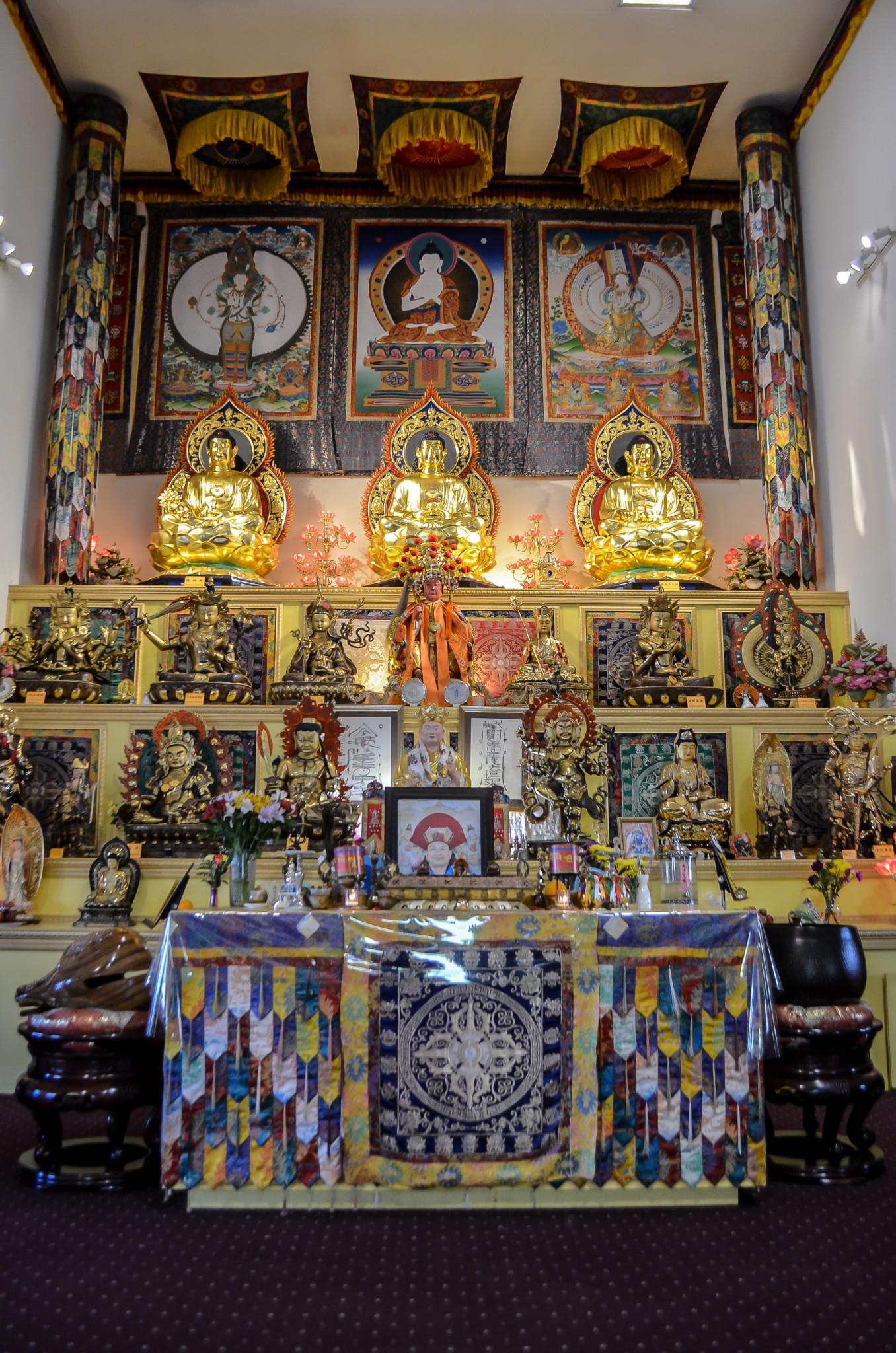 Ling Shen Ching Tze Buddhist Temple, 1035 W. 31st St. (Bridget Vaughn)