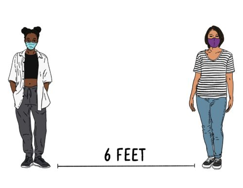 6ft an Illustration By Grae Rosa