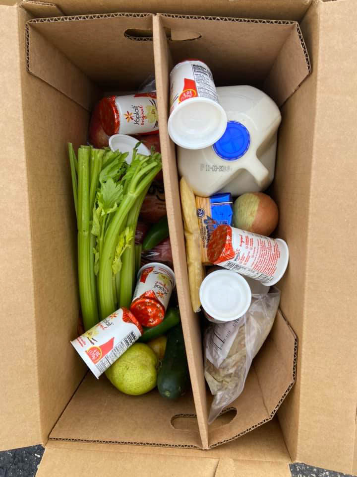 An aid box example. Photo: Courtesy of 19th Ward Mutual Aid