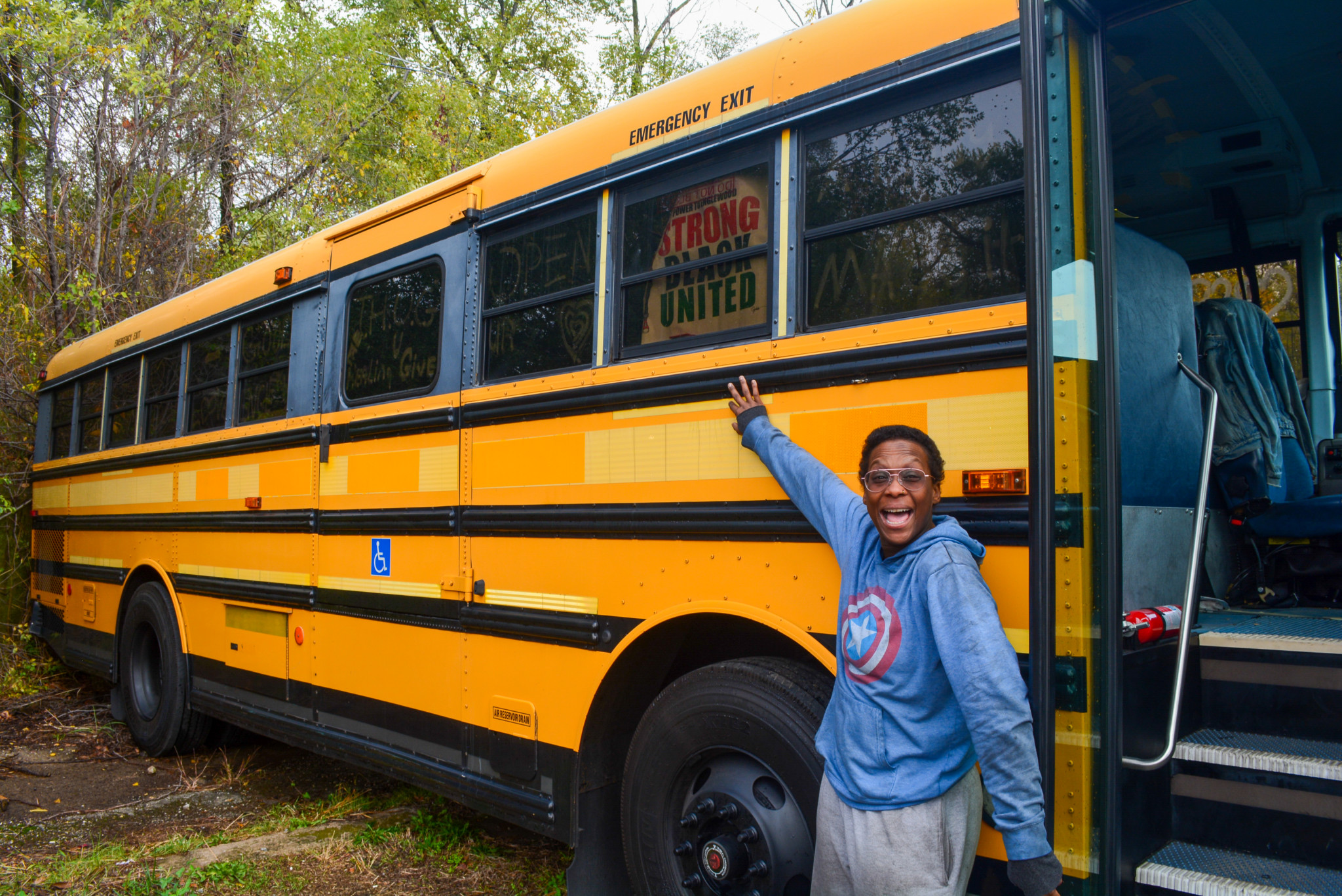 E A Williams. Thug Hippie Bus. Photo Credit: Brittany Norment