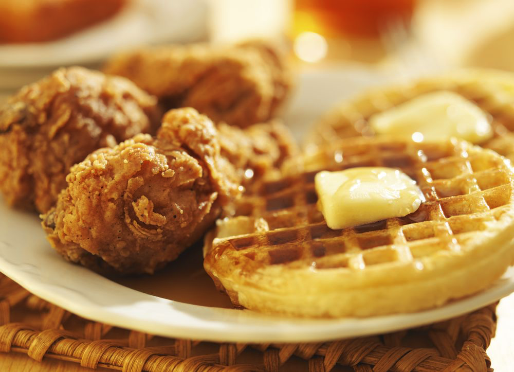 Mather's Chicken and Waffle for $6.39. Photo Credit: Mather.