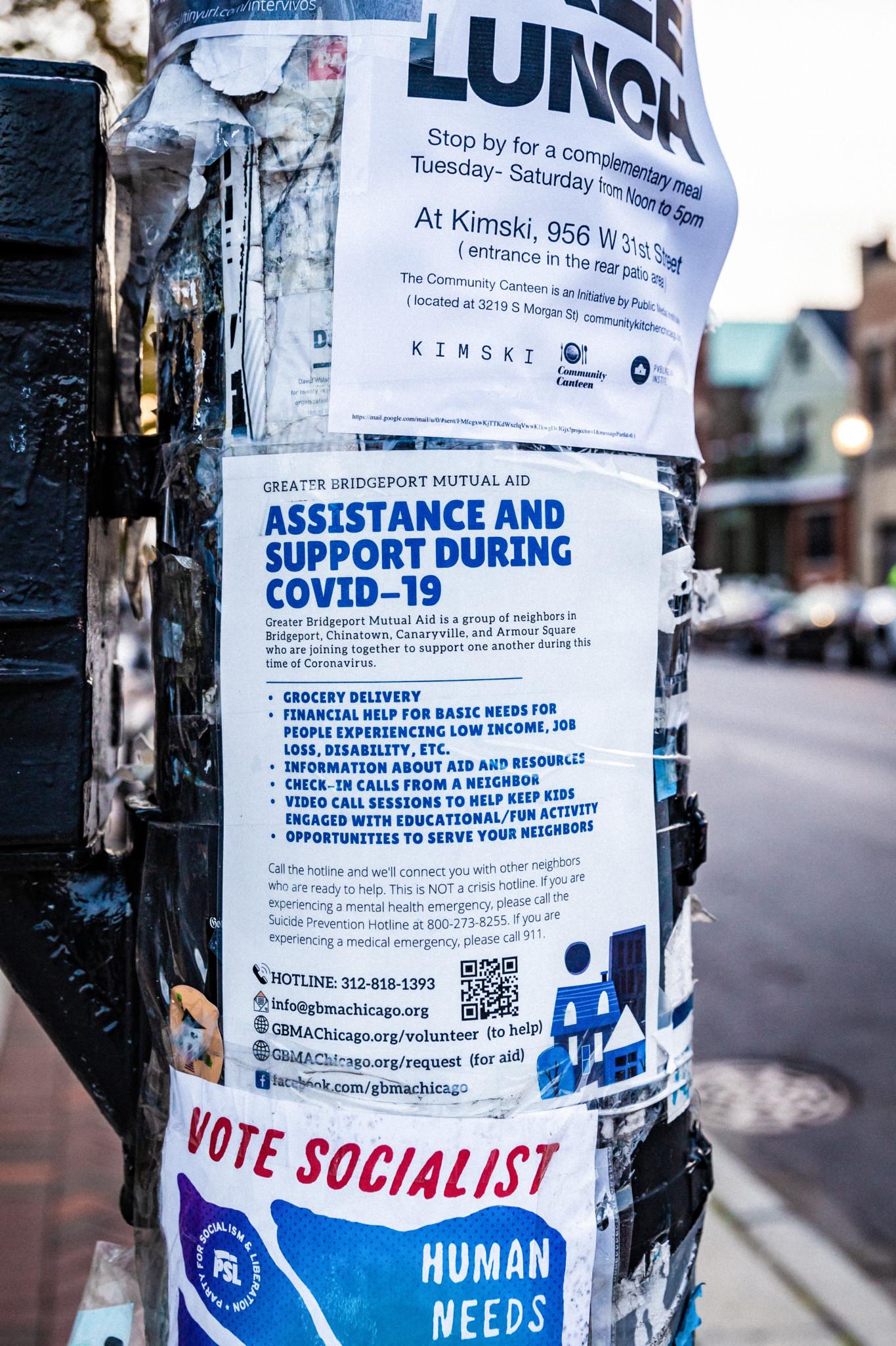 Mutual Aid. Photo Credit: Anthony Nguyen