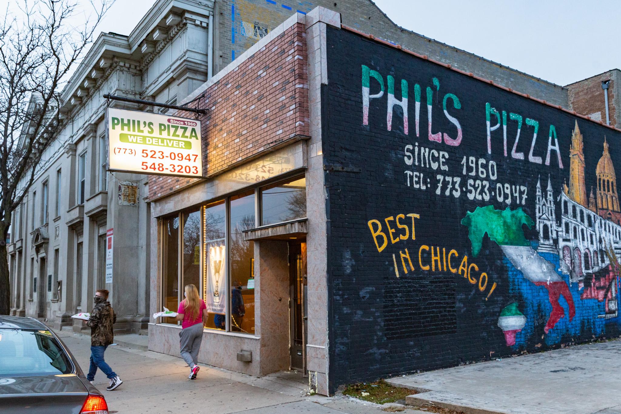 Phils Pizza. Photo Credit: Anthony Nguyen