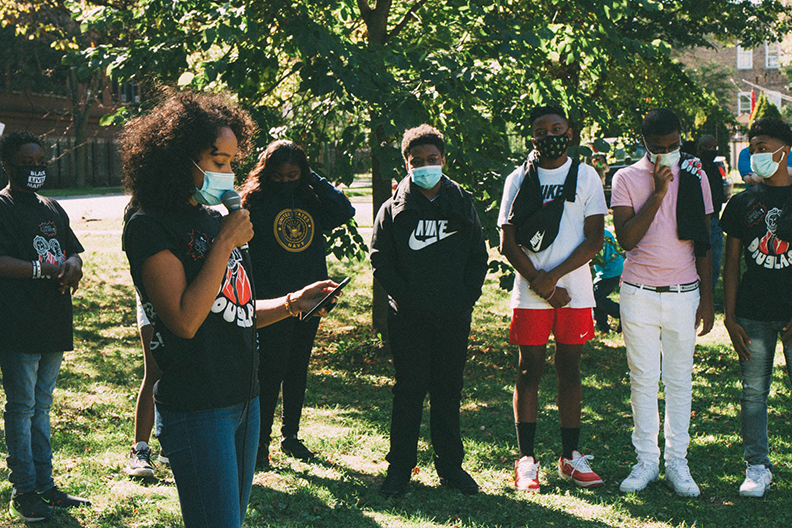 Student Activism. Photo Credit: Thought Poet