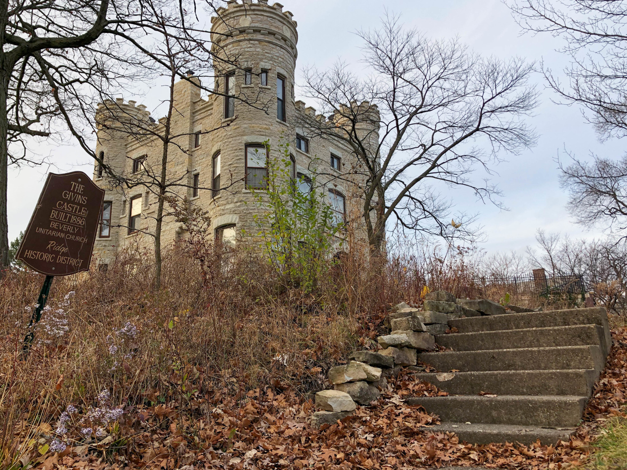 The Givins Castle built 1886. Photo Credit: Scott Smith