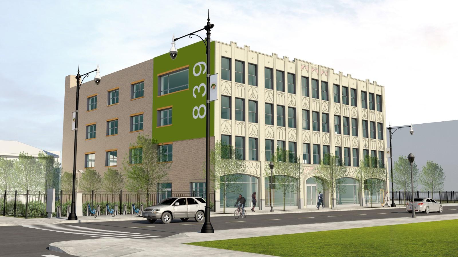 "Renderings of the ""Always Growing, Auburn Gresham"" Chicago Prize-winning plan. Courtesy Greater Auburn-Gresham Development Corporation."