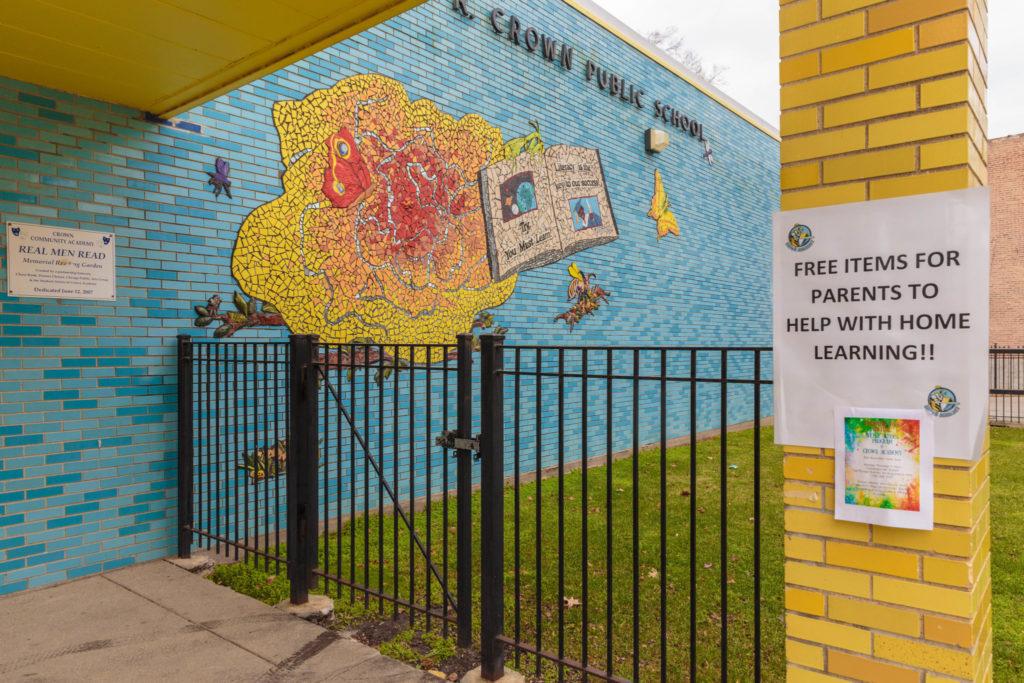 West Side School Closure. Photo Credit: Anthony Nguyen