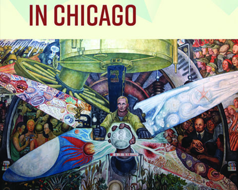 Mexican Revolution in Chicago Book Cover. Courtesy of Flores and UI Press