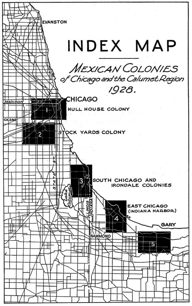 Supplemental Image of Mexican Colonies of Chicago and the Calumet Region. Courtesy of Flores and UI Press