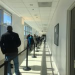 Line at 4th floor