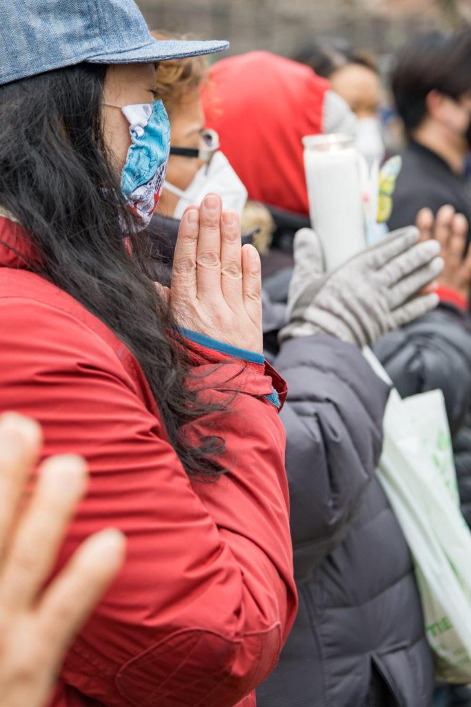 Chinatown Rally. Photo By: Yiwen Lu
