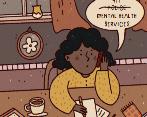 Treatment Not Trauma. Illustration By: Julia Zeler