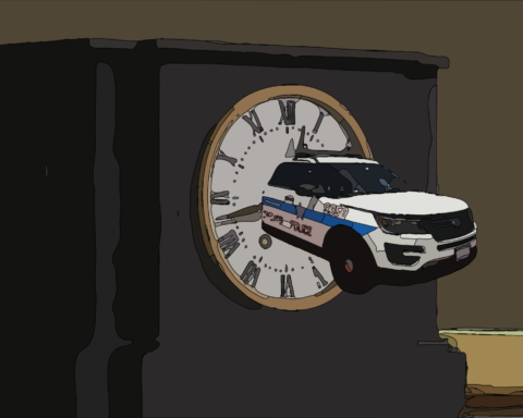 CPD Overtime Art by Zahid Khalil